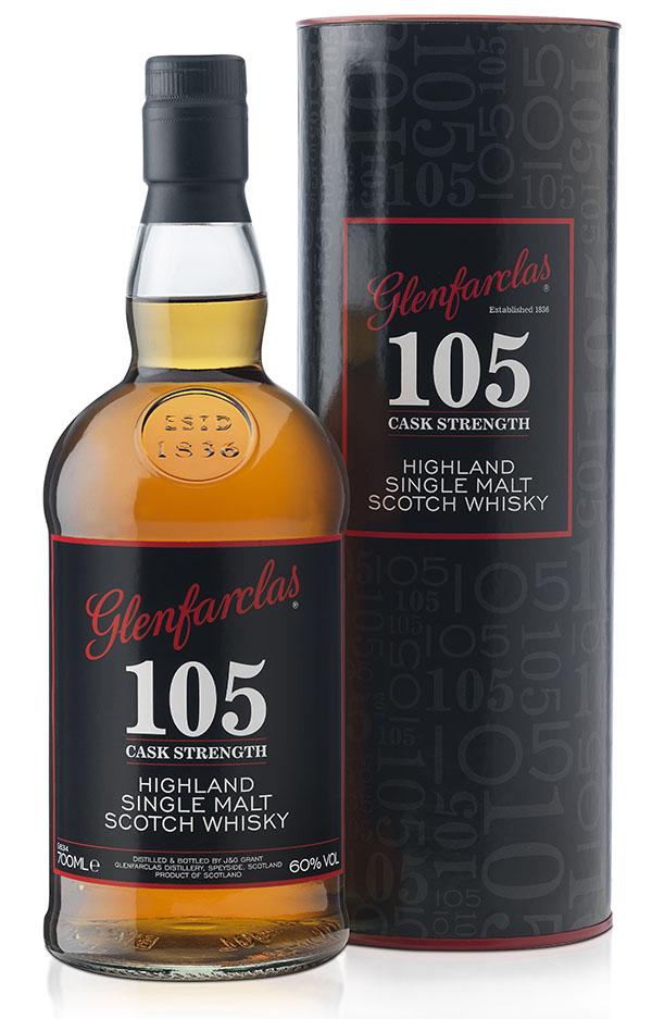 Glenfarclas Highland Single Malt Scotch Whisky 105 Cask Strength
