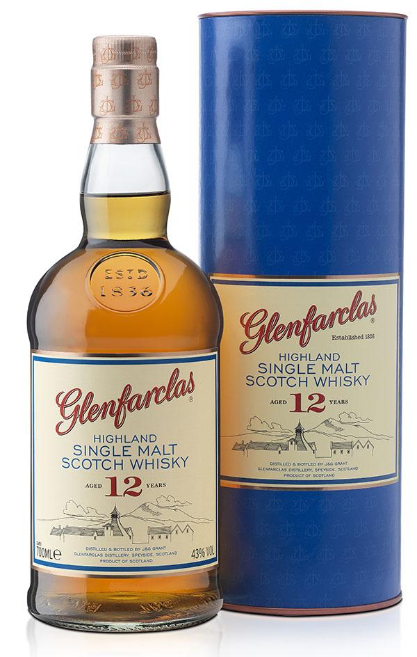 Glenfarclas Highland Single Malt Scotch Whisky 12 Year Old