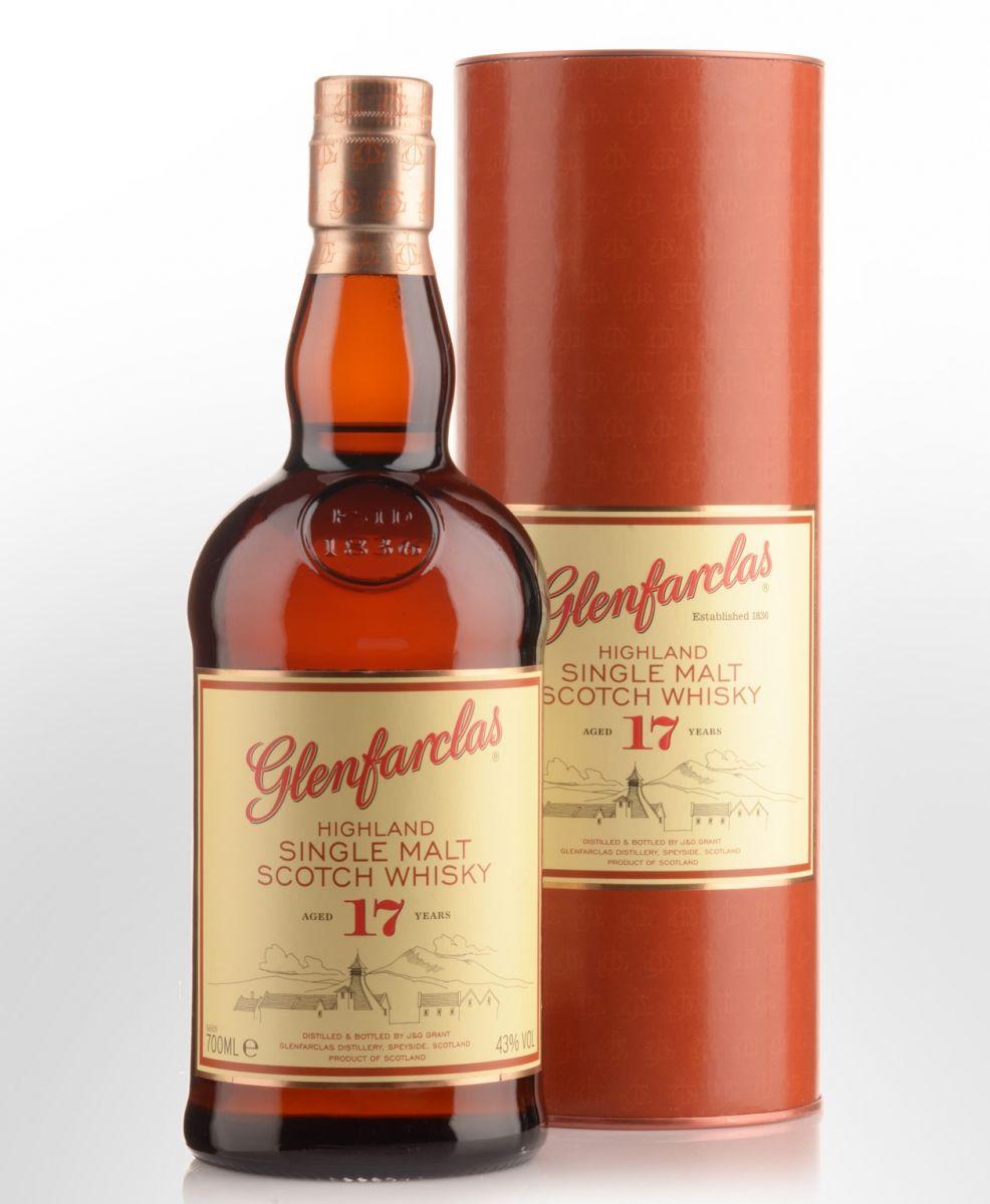 Glenfarclas Highland Single Malt Scotch Whisky 17 Year Old
