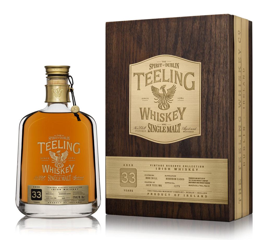 Teeling Irish Single Malt Whiskey The Vintage Reserve Collection 33 Year Old