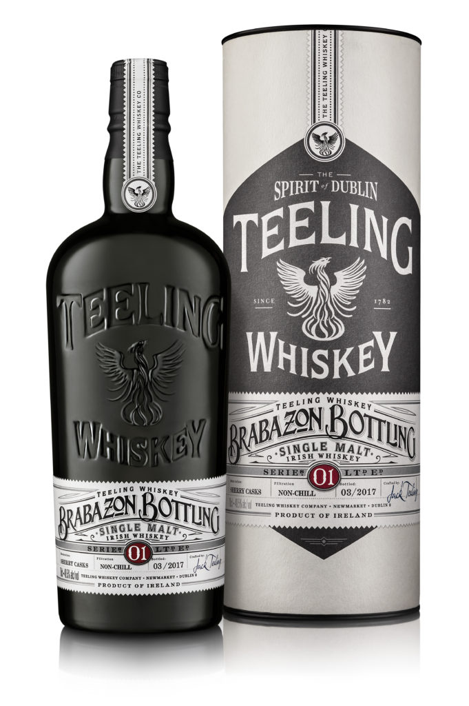 Teeling Irish Single Malt Whiskey Brabazon Bottling Serie 1