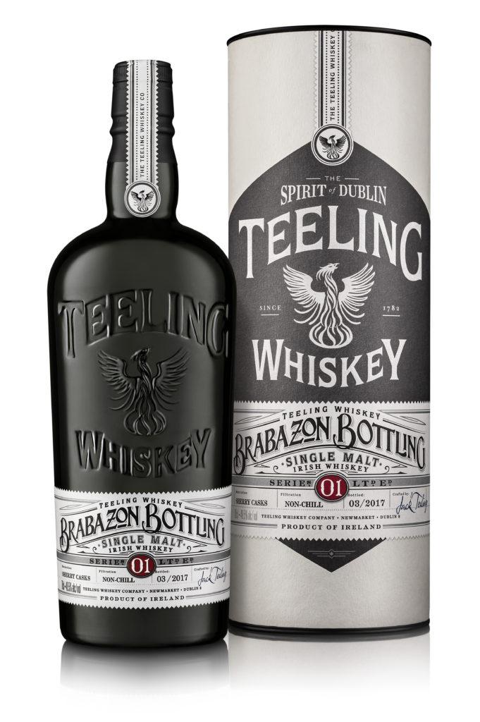 Teeling Irish Single Malt Whiskey Brabazon Bottling Serie 1