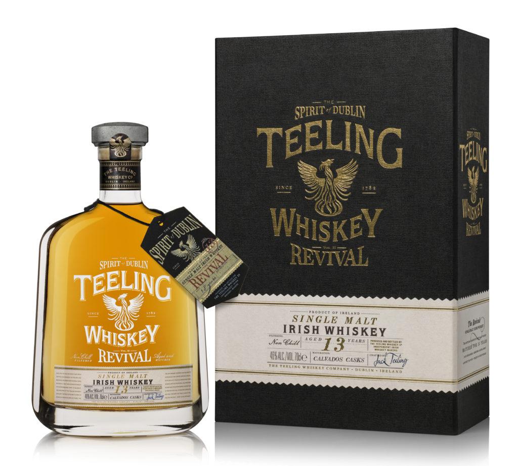 Teeling Irish Single Malt Whiskey The Revival II 13 Year Old