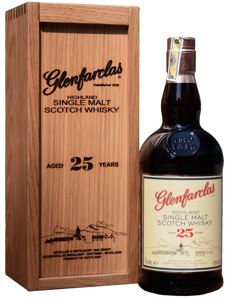 Glenfarclas Highland Single Malt Scotch Whisky 21 Year Old
