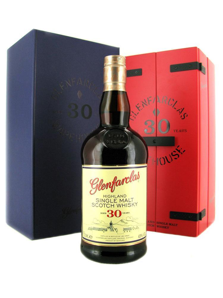 Glenfarclas Highland Single Malt Scotch Whisky 30 Year Old