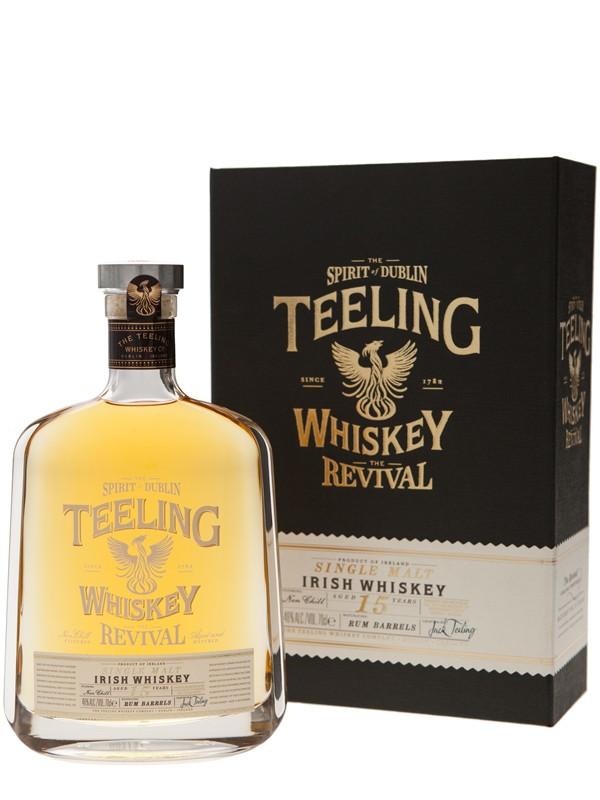 Teeling Irish Single Malt Whiskey The Revival 15 Year Old