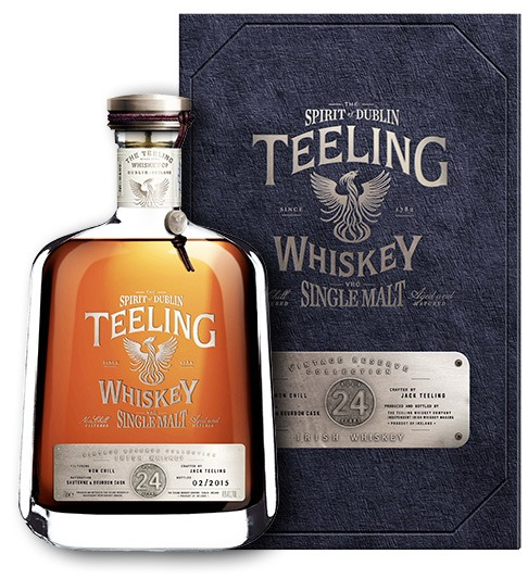 Teeling Irish Single Malt Whiskey The Vintage Reserve Collection 24 Year Old
